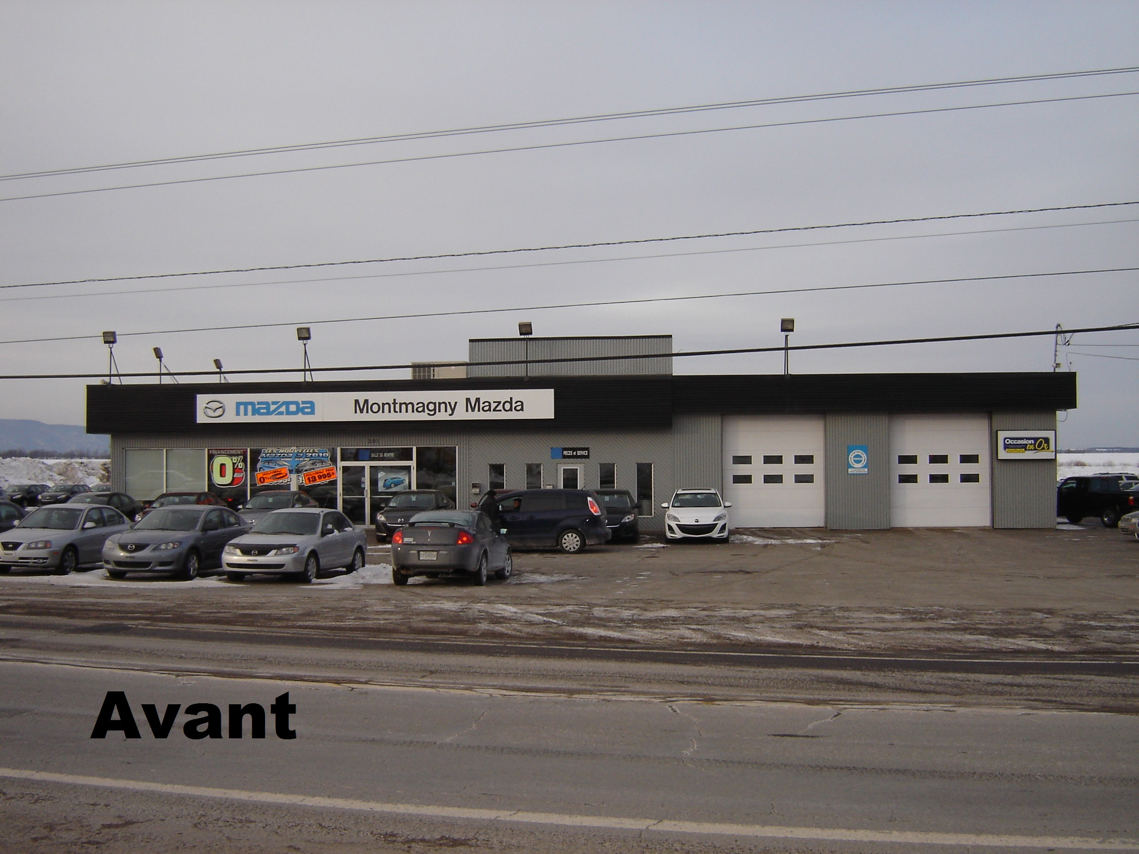 Montmagny mazda construction roger landry for Garage du landry